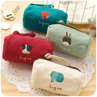 other Wallets  Fabric animal japanese style coin purse key wallet zakka canvas bags mini storage coin case