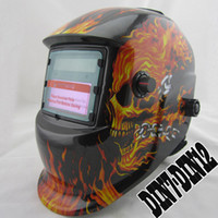 Wholesale Cheap outside control shading area DIN7 Solar auto darkening welding helmet welder mask eyes glasses goggles