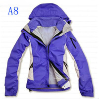 Wholesale Newest woMens in1 Outdoor Jacket Climb Hiking Clothes Soft Shell Liner Waterproof S XL