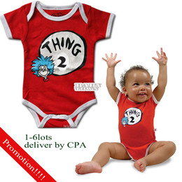 Wholesale Baby One Piece Romper Mth Red baby clothes Dresses Jumpsuits Shirts Bodysuit by CPA