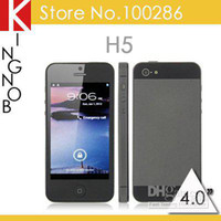 Wholesale P5th H5 Wifi TV inch Unlocked i5 Dual SIM Quad Band efit Cheap Cell Phone Greek Hebrew Magyar