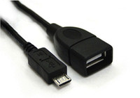 Wholesale Micro USB Host OTG Cable for Samsung Galaxy S3 S2 i9300