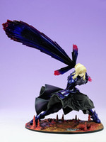 Fate/stay night  alter fate - Japan Anime figure Fate stay night Black Saber Alter PVC Figure toys18CM Height