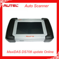 Wholesale Authorized Distributor Auto Scanner Autel MaxiDAS DS708 update via internet full package original DS Code Reader