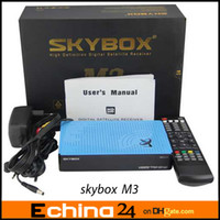 Wholesale Original Skybox M3 pi Full HD Satellite Receiver support USB Wifi with Sharp Tuner