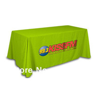 trading company - company logo table cover trade show tablecloth exhibition table cloth suitable for ft or ft table