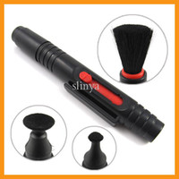 Wholesale Black Digital SLR Camera Lens Cleaning Pen For Sony Canon Nikon Samsung Camera Lenspen Lens Brush