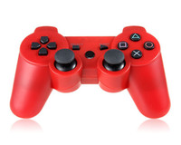 Wholesale USB Rechargeable Packing box Wireless Game Wireless Controller for SONY PS3 Controller Joysticks XMAS