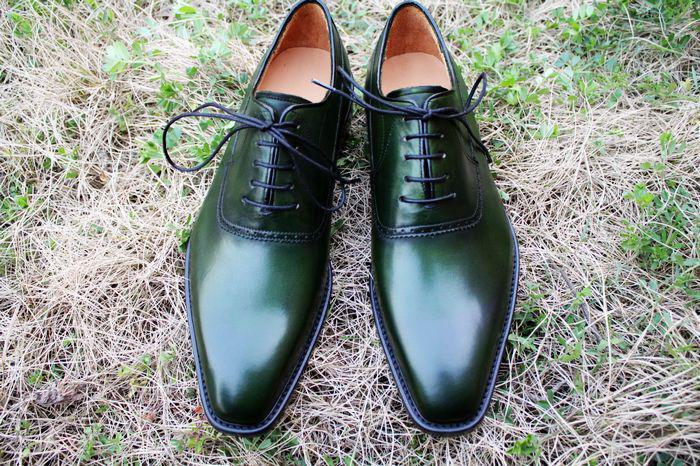 Cheap green dress shoes