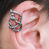 Wholesale New Fashion Punk Branch Snake Pattern Ear Cuff Vintage Jewelry Earrings Clip on