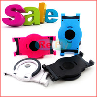 Wholesale Tablet PC Stands Universal Tablet Stands Holder Handle Bracket Rotating Holder Stand For Ipad Ipad Mini With Retail Package refly