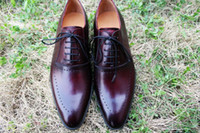 Men Dress shoes Oxfords shoes Men' s shoes Custom handma...