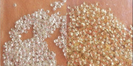 Wholesale 200pcs Popular Mini Alloy Metal gold Shell Beads For Nail Art Decoration Craft