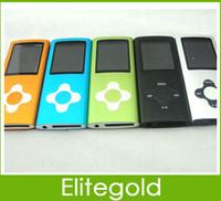 Wholesale Plum flower mp3 mp4 Player th gen slim music player GB memory inch screen DHL SHIP