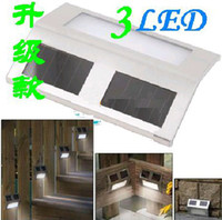 Wholesale High quality Solar Powered LED Garden Stainless Light LED Home Stair Pathway Deck Corridor Step Light