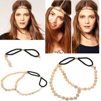 Wholesale New High Quality Punk Style Girls Headband Fashion Headbands For Womens Gold Hair Bands JH01033B