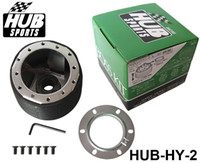 Wholesale New JDM S Coupe Car Steering Wheel Boss Kit Hub Adapter FOR HYUNDAI HY HUB HY Have In Stock