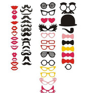 Wholesale Hot selling Different Styles Photo Booth Props FUN PARTY WEDDING VINTAGE Photography
