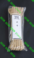 Wholesale BDSM FATORY M Linen Rope Bondage Japanese Hemp Rope comfortable Restraint Bondage