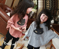 Girl big boys sweaters - 2013 autumn subsection big boy coat children girls T shirt autumn bat shirt sweater