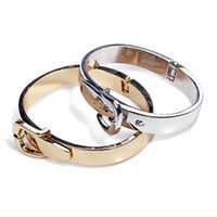 Wholesale bracelet wristband gold amp silver plated tb fashion cuff bangle B2