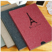 Wholesale Tower Eiffel Paris vintage Antique DIY PHOTO ALBUM Scrapbook Paper Crafts for baby wedding picture
