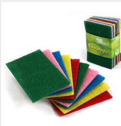 Wholesale Color scouring pad dish cloth cloth clean cloth to wipe cloth