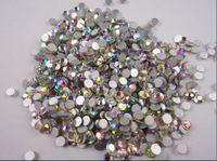ab pack - SS12 mm Size AB Color Swarovski Crystal Hot Fix pack Nail Art Decoration Rhinestone Daimond Beauty Fashion