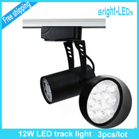 Wholesale 3pcs W led track Back Recess lighting aluminum white black shell Exhibition stands and panels High Quality best price