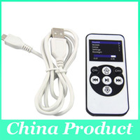 Wholesale DHL Free Remote Control FM Transmitter Car Charger for iphone GS iPod Touch High Quality