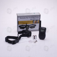 Wholesale 2013 Hotsale pet supplies level LCD REMOTE PET DOG TRAINING Collar piece m shock