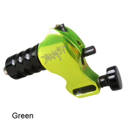 Beast Rotary Tattoo Machine Gun Green Color For Tattoo Needle Ink Cups Tips Kits 6 Colors available