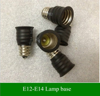 candles and candle holders - Lamp Holder Converters Base Converter E14 to E12 or E12 to E14 for LED candle light LED bulbs and led spotlights