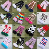 Wholesale New arrival Baby Zebra Leopard Leg Warmers Infant Owl Legging Tights Girl chiffon ruffle Socks Xmas christmas Gift