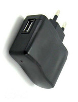 Wholesale DHL freeshipping USB AC Power Supply Wall Adapter V A Adaptor MP3 Charger EU Plug MP3 MP4 Tablet