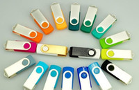 Wholesale 100pcs Promotion pendrive GB popular USB Flash Drive rotational style memory stick with DHL Fedex