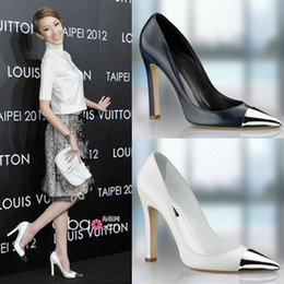 Wholesale Hot sell autumn winter pumps for women sexy gold heels women leather shoes designer shoe fashion high quality