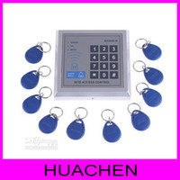 Wholesale RFID Proximity Entry Door Lock Access Control System with Key Fobs Drop shipping