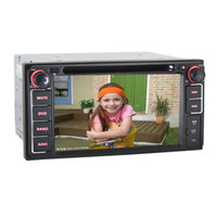 2 DIN Special In-Dash DVD Player 6.2 Inch Toyota Camry   Corolla EX   Fotuner   Hilux   Yaris   RAV4   Hiace Special Double DIN Car DVD Player+Radio+GPS Navigation+BT+RDS+AUX+1080P