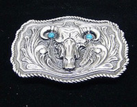 Wholesale Turquoise and scalp agio carving belt