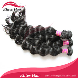 Wholesale Queen hair virgin Brazilian hair extension Loose wave quot quot DHL BH504