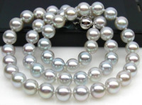 Strands, Strings best buy grey - Best Buy Pearls Jewelry stunning mm tahitiansilver grey pearl necklace inch