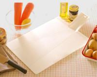 Wholesale 48x27x0 cm High Quality PP Folding Kitchen Cutting Board Foldable Plastic Chopping Block