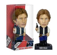 Wholesale FUNKO Star Wars Han Solo Bobble Head PVC Action Figure Toy