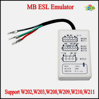 Code Reader auto immo reader - Auto Professional MB for M ercedes B enz ESL Emulator Tool Professional IMMO Eraser Emulator Support W202 W203 W208 W209 W210 W211