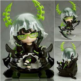 Retail Nendoroid mignon Black Rock Shooter morts Maître DM PVC Mini Toy Action Figure Doll 10cm # 292 mini rocks for sale à partir de mini-roches fournisseurs