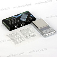 Wholesale New arrival Factory Price wholesales Mini g g g g Digital Weigh Scale Balance Jewelry LCD Scales Hot MYY6185
