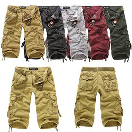 Wholesale socool2010 New Men s Cotton Hobo Men Relaxed Fit Cargo Shorts Summer Cool Pants Shorts R53
