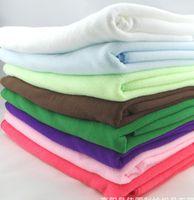 bath sheets - world ship CM Soft Microfiber Bath Sheet Beach Towel Microfibre Towels Absorbent Cloths Drying Cloth Shower Beach Towels