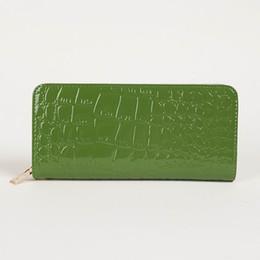 fashion Women Patent Leather Purse card cell pone Wallet Purse Long Clutch Handbag Bag phone packag #3273
